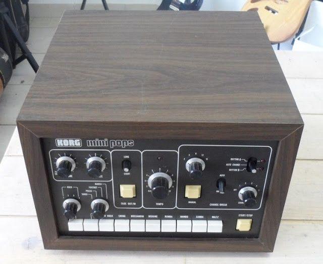 MATRIXSYNTH: Korg Minipops-120W vintage analog drum machine