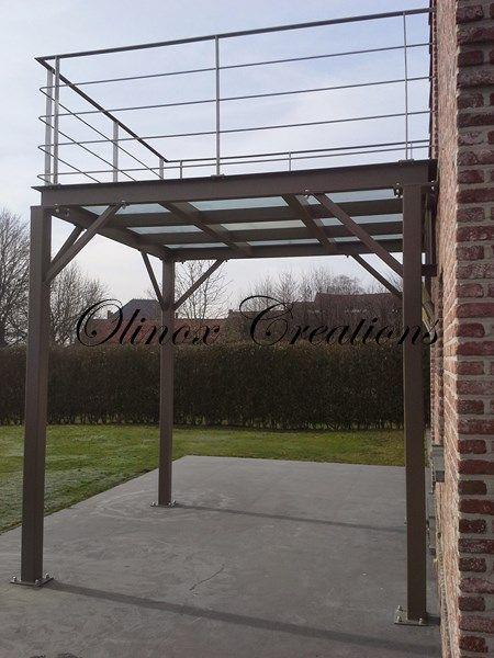 terrasse sous balcon suspendu - Recherche Google Exterieur - Terrasse Sur Pilotis Metal