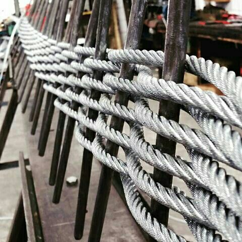 Formation of one of woven wire rope sling,seems intresting.LKING ...