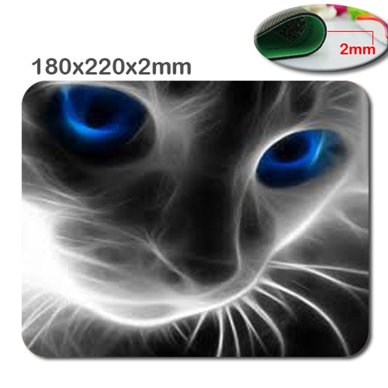 Custom High Speed New Mousepad Mice Mat Pad For Gaming Or Office   Animal  Cat Eyes