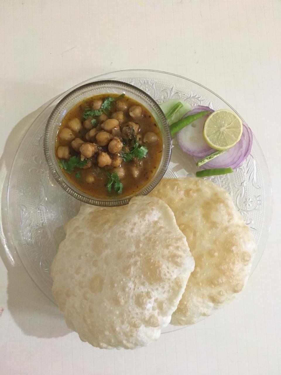 Punjabi Chole Bature  #madebyme