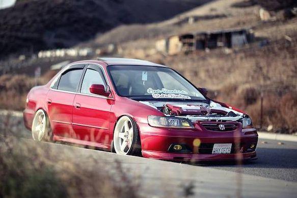 Accord Mine Is Sam Color Just Missing The Wheels And Pretty Stuff I Think I Like Honda Accord Honda Accord Coupe Jdm Honda