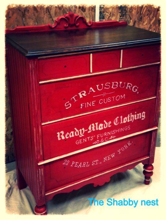 Scary Dresser revived | Pintar, Cómodas y Reciclado
