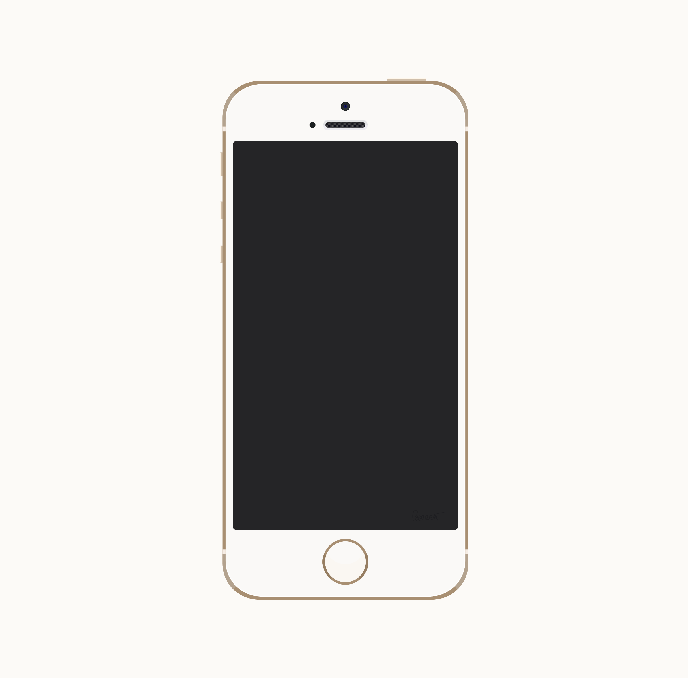 Iphone Clipart Phone Clip Iphone Phone Template