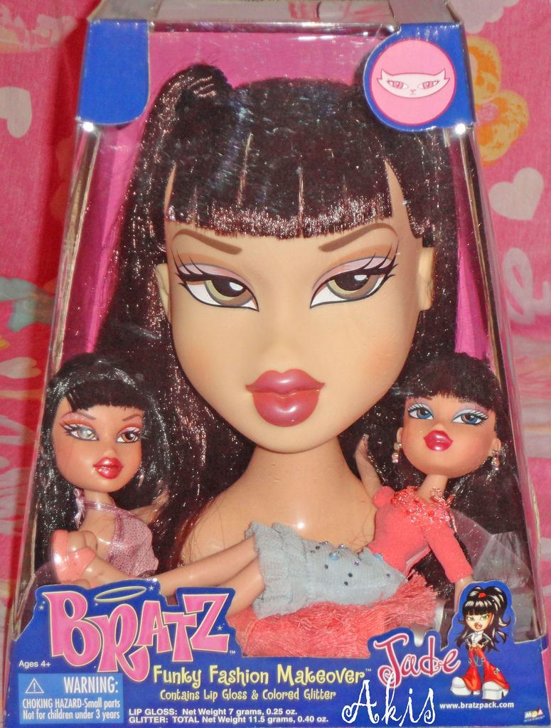 Bratz Styling Head Jade Bratz Doll Vintage Toys Style Makeover