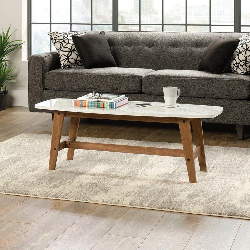 Amazon Com Sauder Soft Modern Cocktail Coffee Table In Fine Walnut Finish Kitchen Dining Coffee Table Living Room Coffee Table Walnut Coffee Table Modern [ 1024 x 1024 Pixel ]
