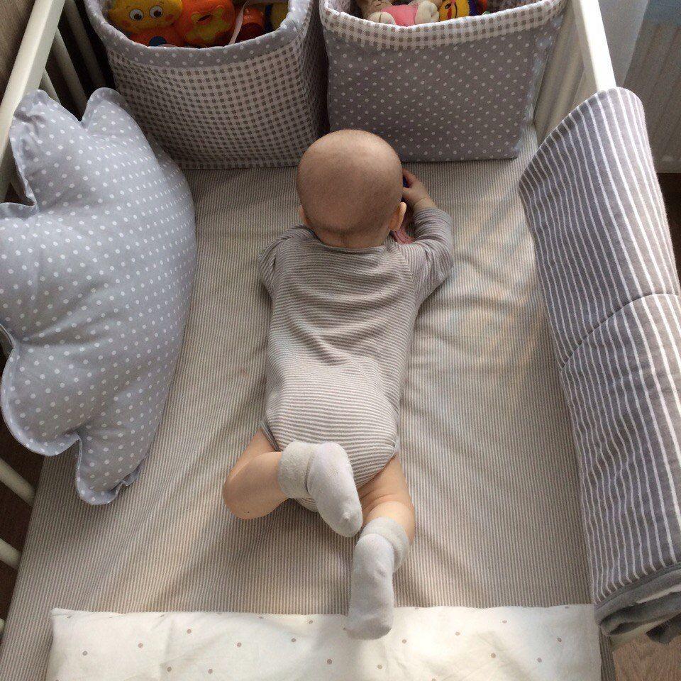 Бортики в кроватку, буквы подушки, LulaBooo | VK