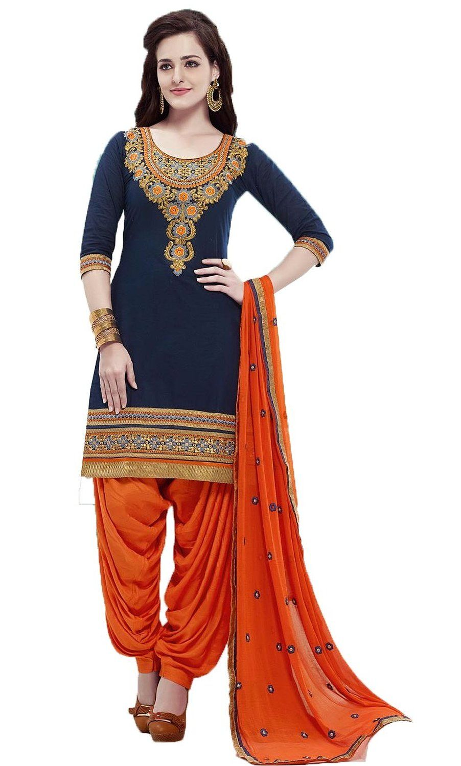 Chakudee By Blue And Orange Dress Amazon In Clothing Accessories