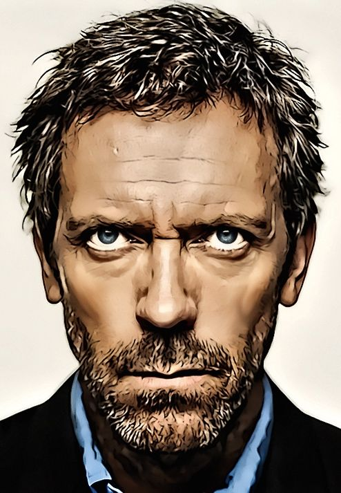 ☆ Gregory House.。Art By:→ Donvito62 ☆