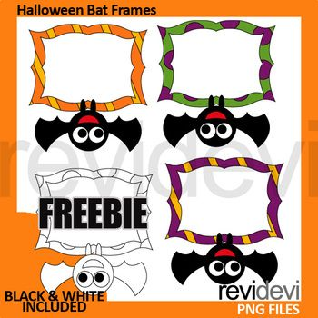 halloween clip art free download bat frames clipart in color and rh pinterest com au