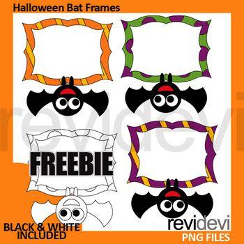 halloween clip art free download bat frames clipart in color and rh pinterest com