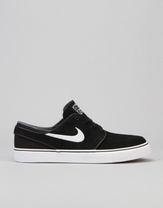 buy popular d8f42 a81cc Nike SB Zoom Stefan Janoski Skate Shoes - Black White