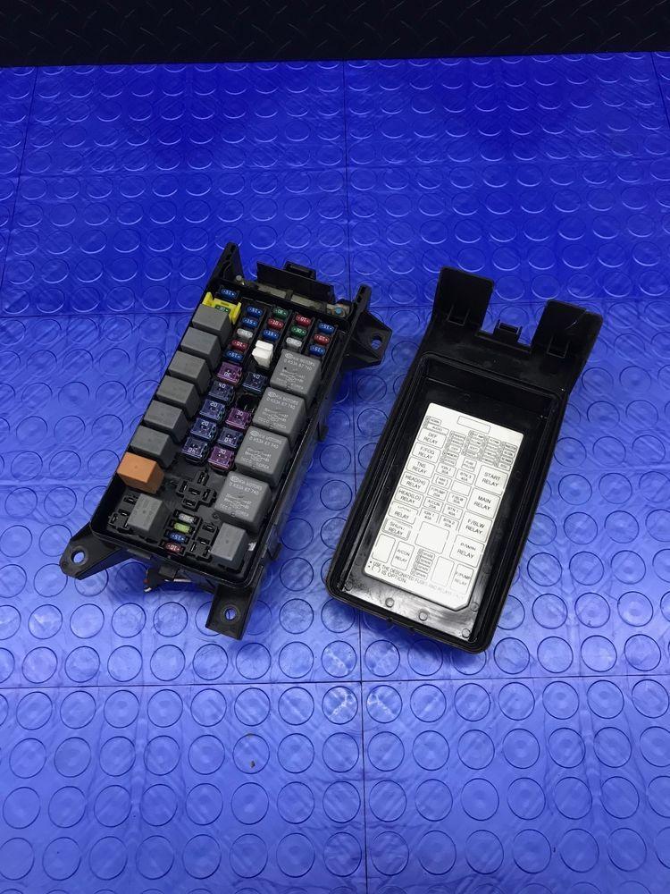 Kia Sorento Part Wire Wiring Junction Fuse Block Relay Panel Box