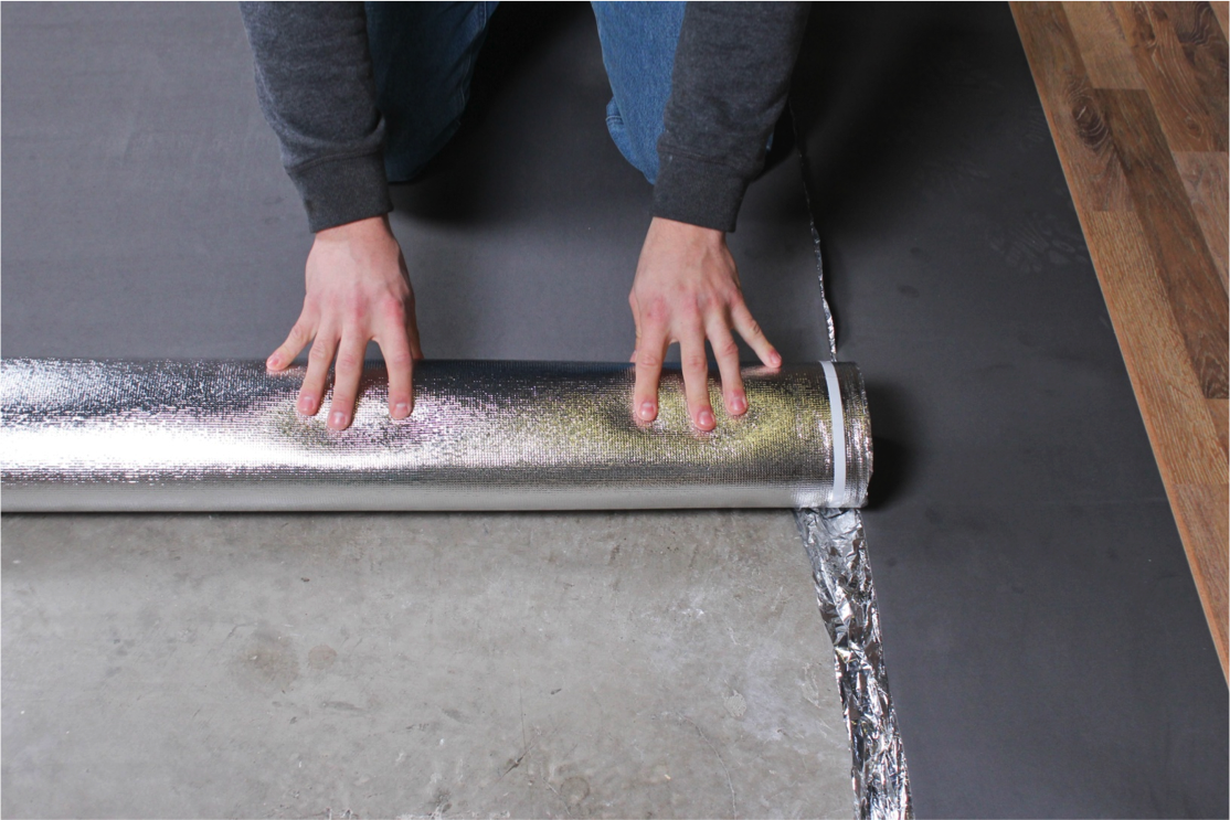 How To Install Underlay For Laminate Flooring On Concrete