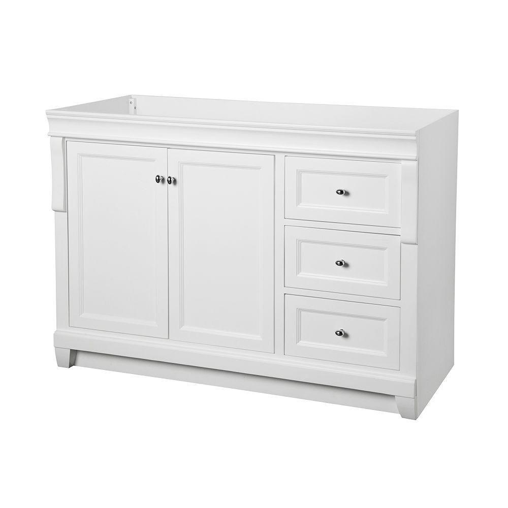 Home Decorators Collection Naples 48 In W Bath Vanity Cabinet