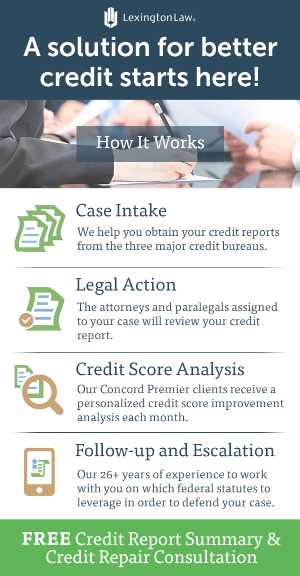 Get The Resources You Need For The Credit Score You Deserve Sign Up With Lexington Law Today Good Credit Credit Score Credit Repair