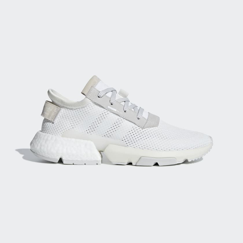 POD-S3.1 Shoes adidas Cloud White   Cloud White   Grey B28089 ... 279ff2ac2