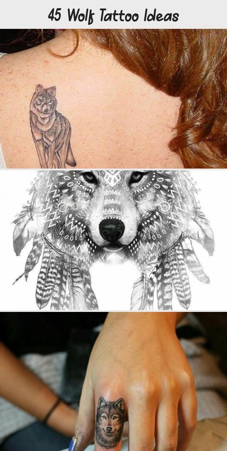 Photo of 45 Wolf Tattoo Ideas – Tattoos and Body Art