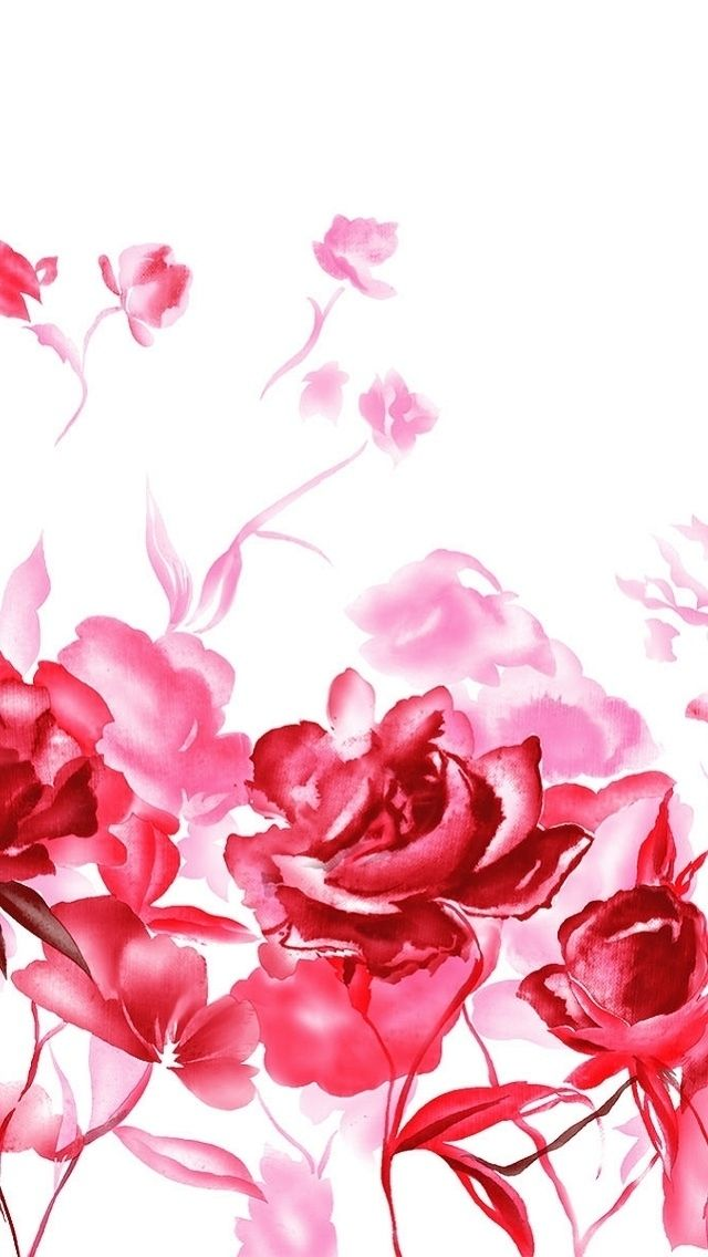 Iphone wallpaper valentine 39 s day tjn iphone walls - Valentine s day flower wallpaper ...