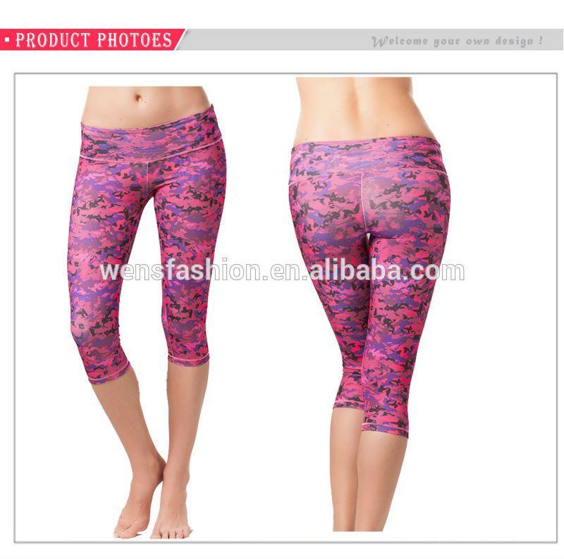 Yoga Clothes Product | Custom Yoga Capri Gym Pants Wholesale Fitness Clothing For Women - Buy ...
