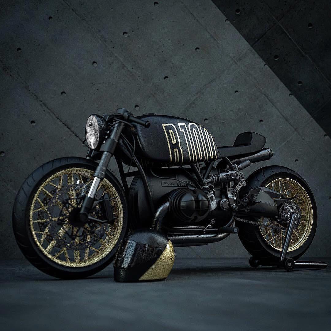 BMW R100 Cafe Racer!   k75   Cafe racer bikes, Bike bmw