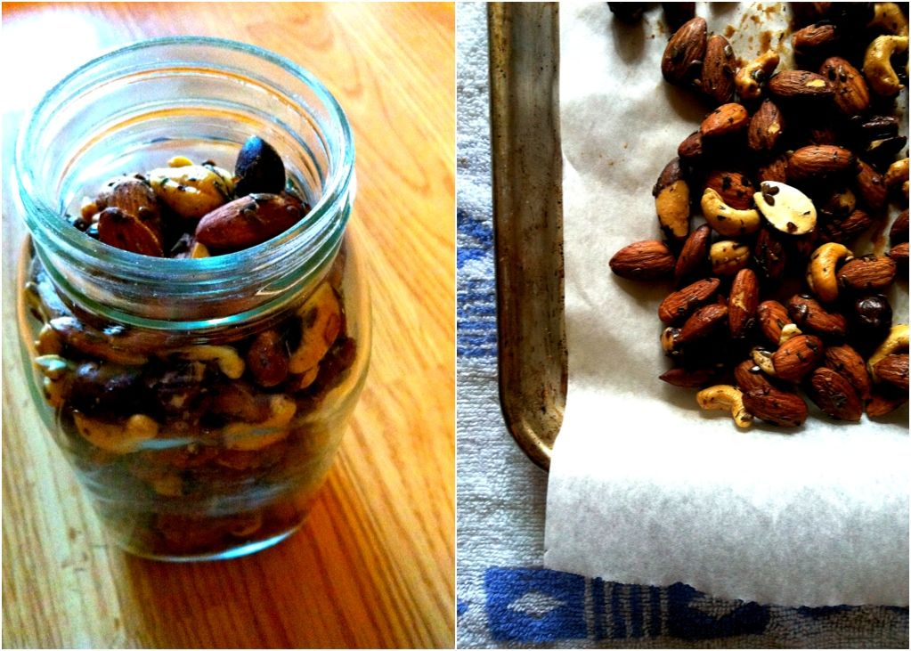 toasted nuts from the new Sprouted Kitchen cookbook