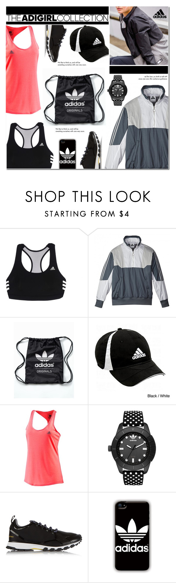 """""""Adidas"""" by cly88 ❤ liked on Polyvore featuring adidas, adidas Originals, Tiffany & Co. and adigirl"""