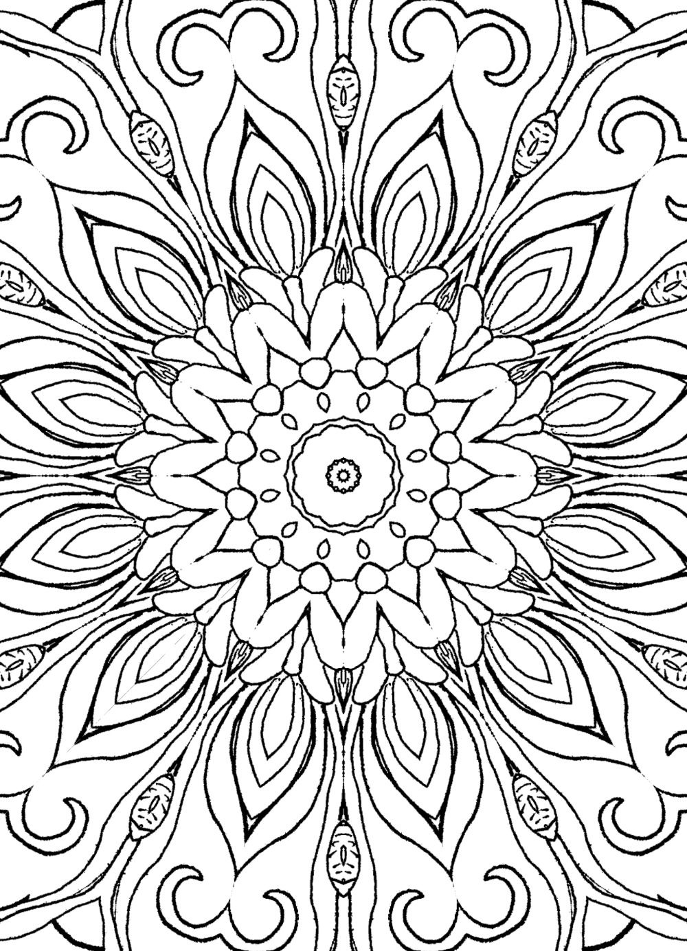 Onselz kristy pinterest mandalas adult coloring and coloring