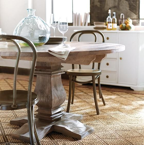 Home decorators aldridge round dining table cheaper alternative 699