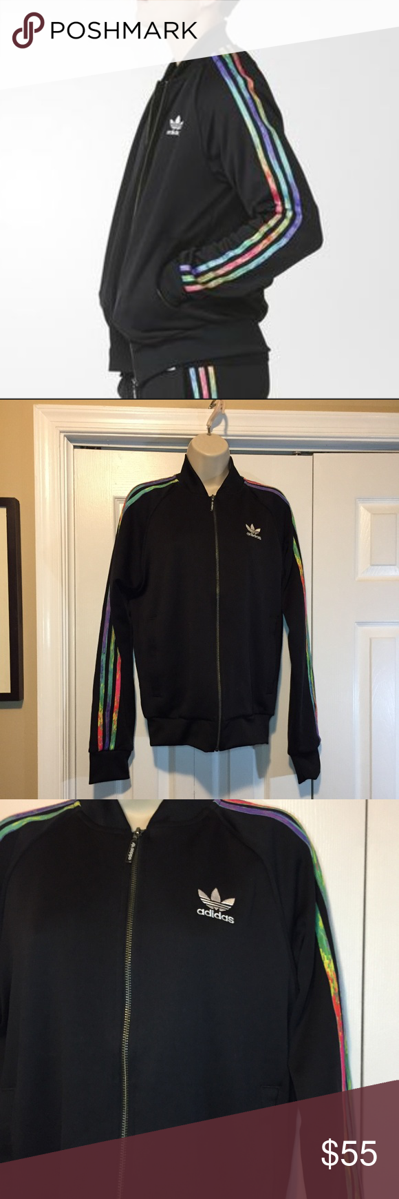 622fb03ab584 Adidas Originals LGBT Superstar Track Jacket S Excellent used condition. No  holes