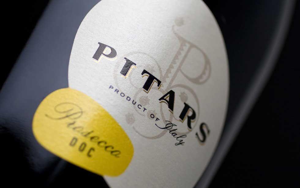 Tailorbrand #Pitars #Prosecco #labelling