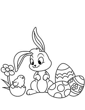 Ausmalbild Osterhase Und Kuken Osterei Ausmalbild Ausmalbilder Ostern Ausmalbilder