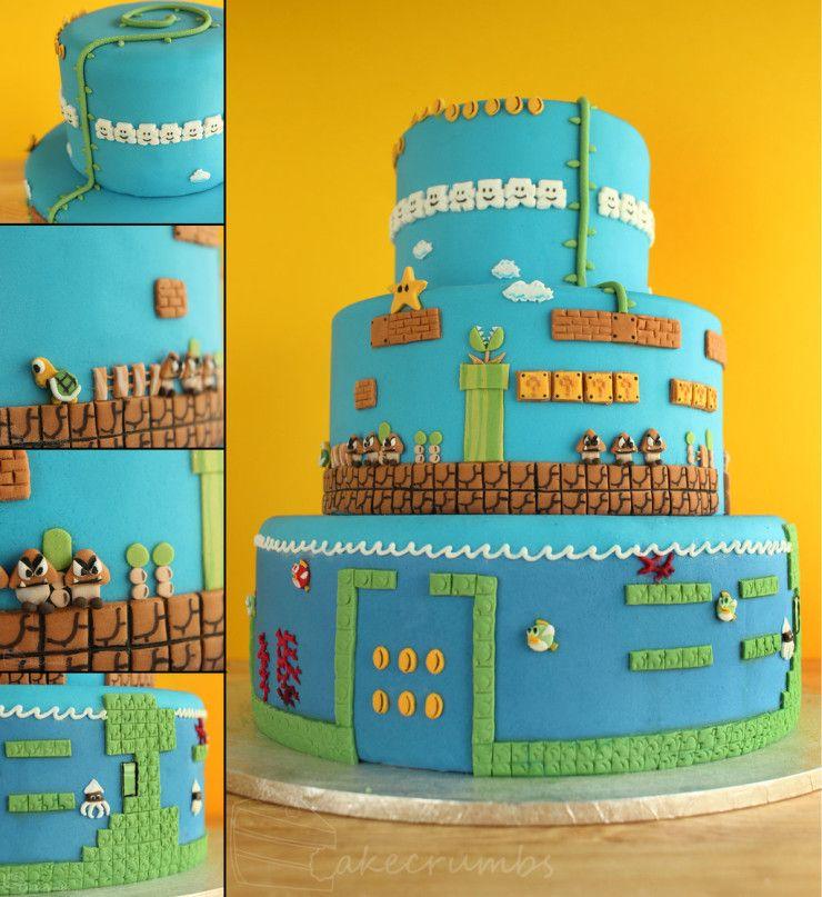 Super mario cake!