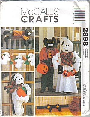 mccalls crafts pattern 2898 halloween decorating