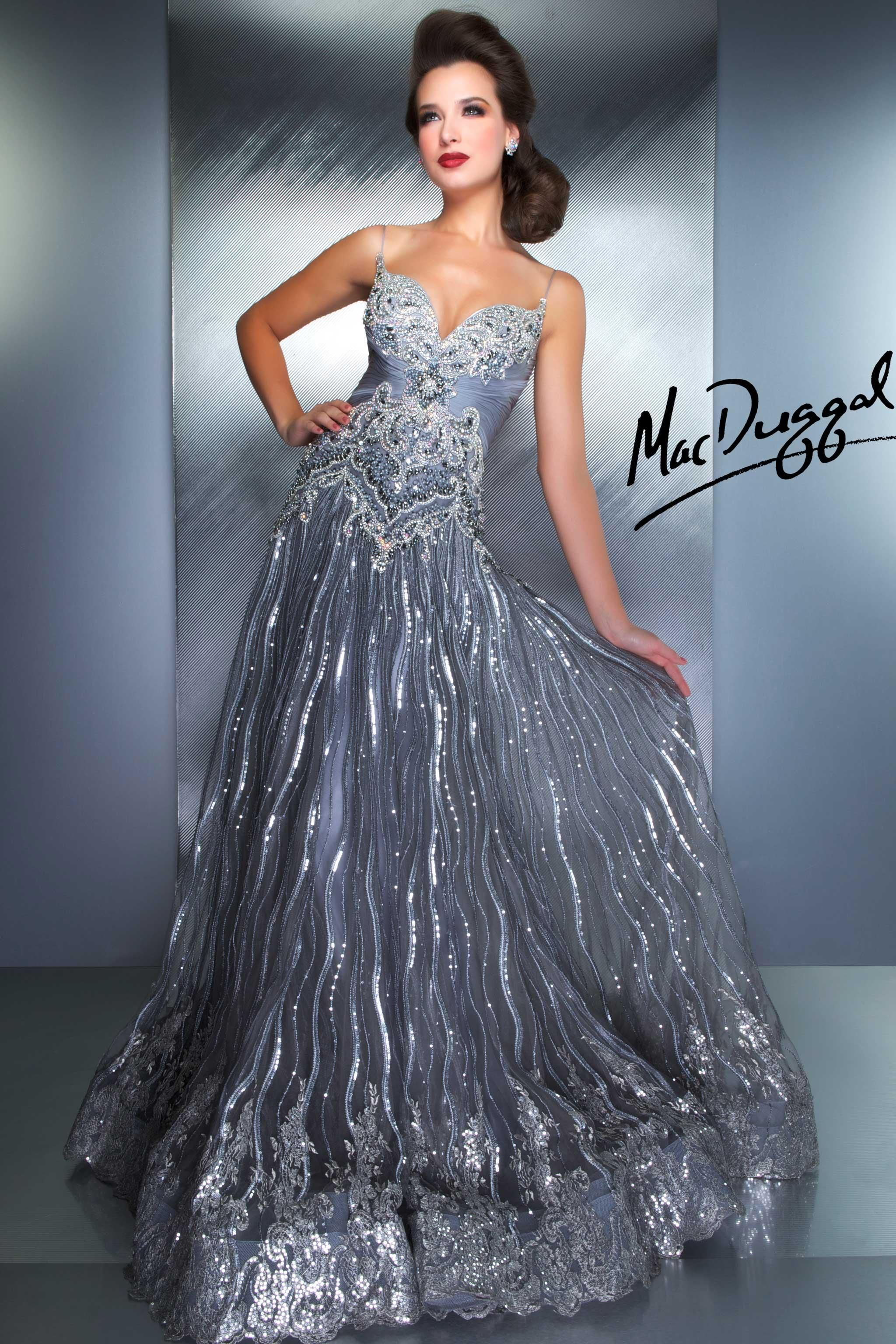 Strap couture gown in blush smoke mac duggal long grey and