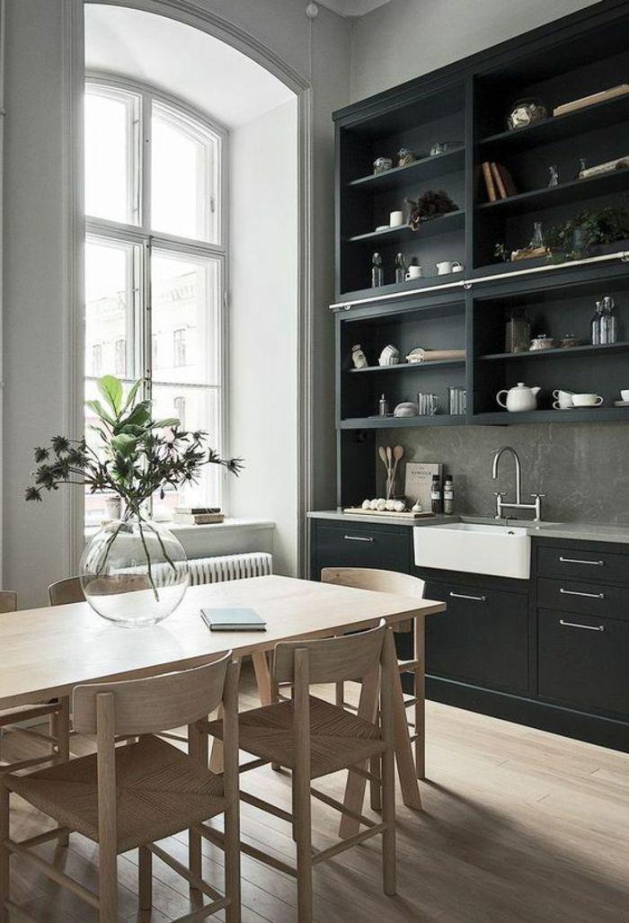 1001 id es pour une petite cuisine quip e des int rieurs gain de place cuisine petite - Petite cuisine integree ...