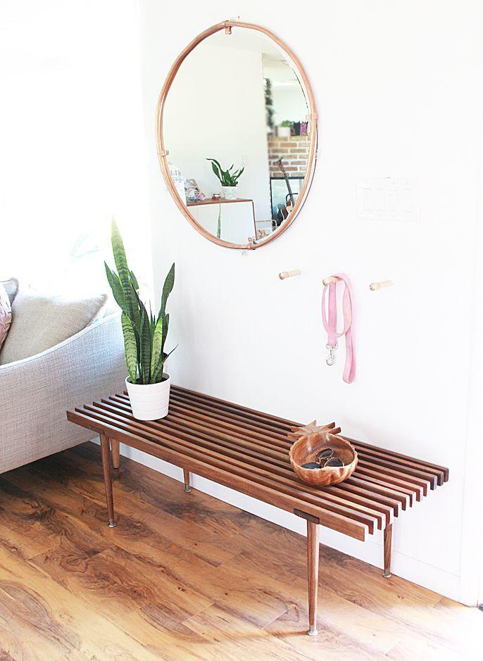 A Bubbly Life: DIY Copper Wood Hooks
