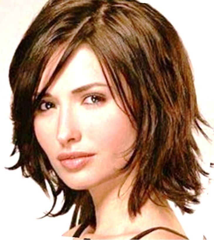 Short Hairstyles For Wavy Hair cute short hairstyle for thick hair Wash And Wear Haircuts For Thick Hair