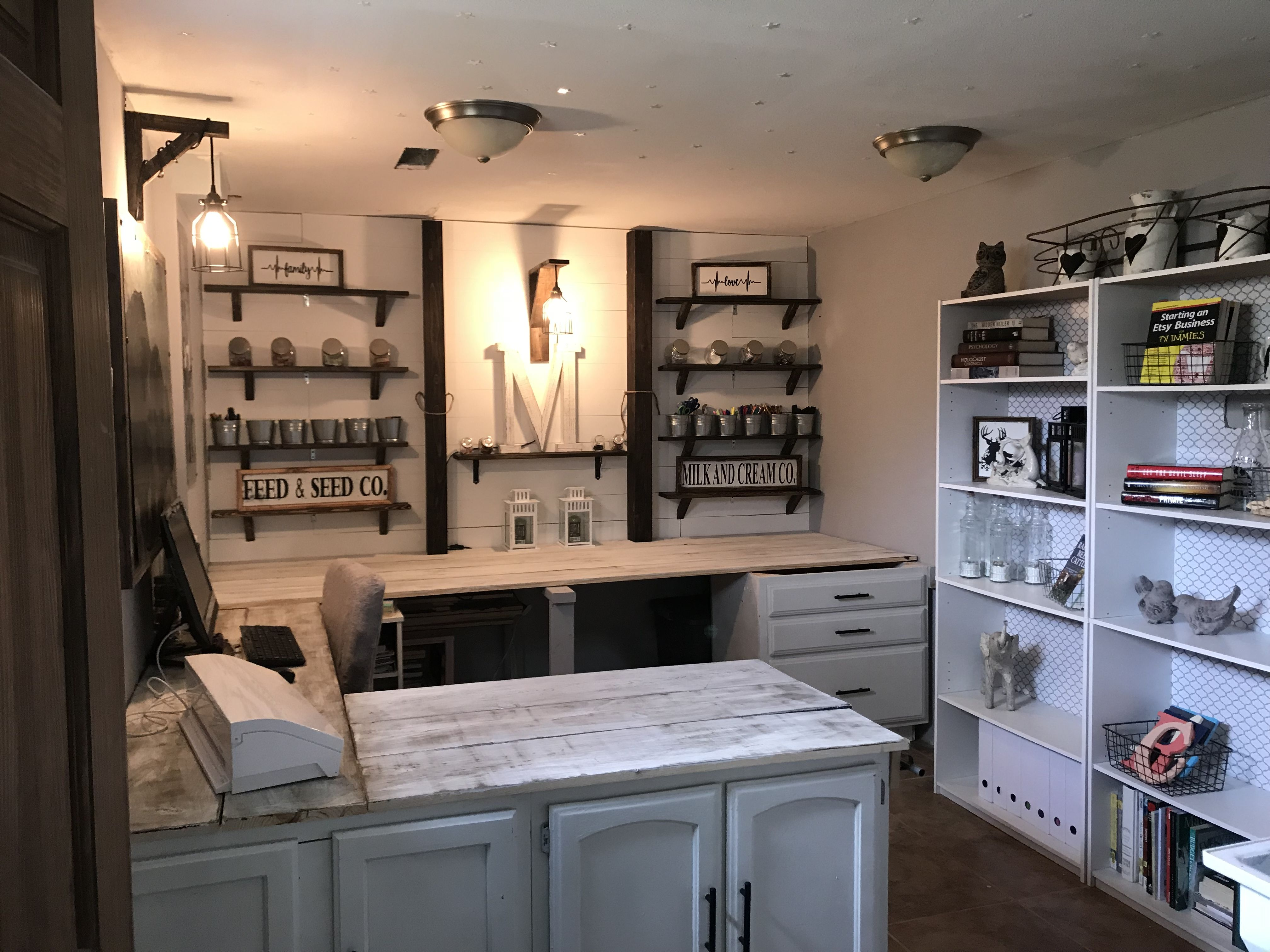 Pin By Ashley Ann On Home Design Ideas In 2021 Craft Room Decor New Furniture Rustic Crafts
