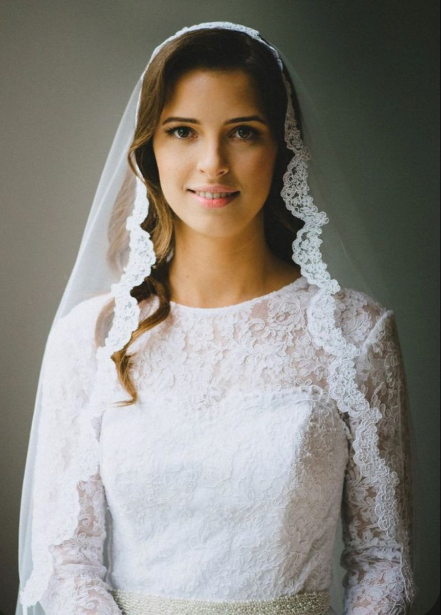 Pin by Catholic on Modest Brides in 2020 (With images