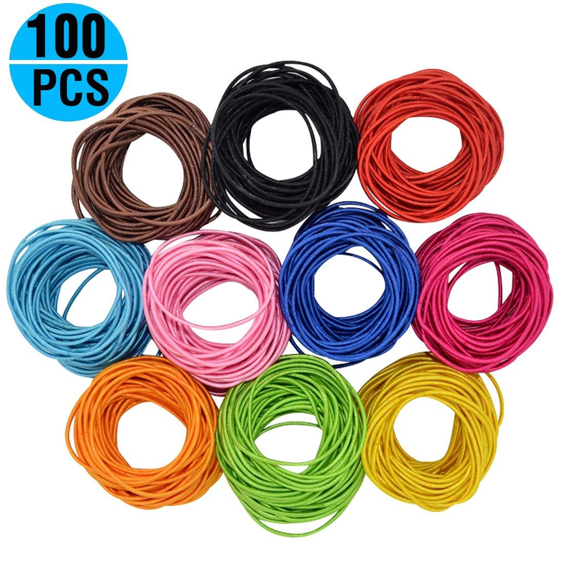 Fashion and Lifestyle Boutique Baby Girls Hair Ties Ponytail Holders -  Stretchy Elastic Hair Ropes Rubber 5a7638f602b