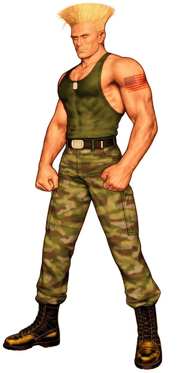 Guile Street Fighter Pictures Characters Art Capcom Vs