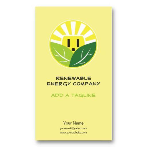 Energy company business cards renewable energy renewable energy company business cards renewable energy reheart Choice Image