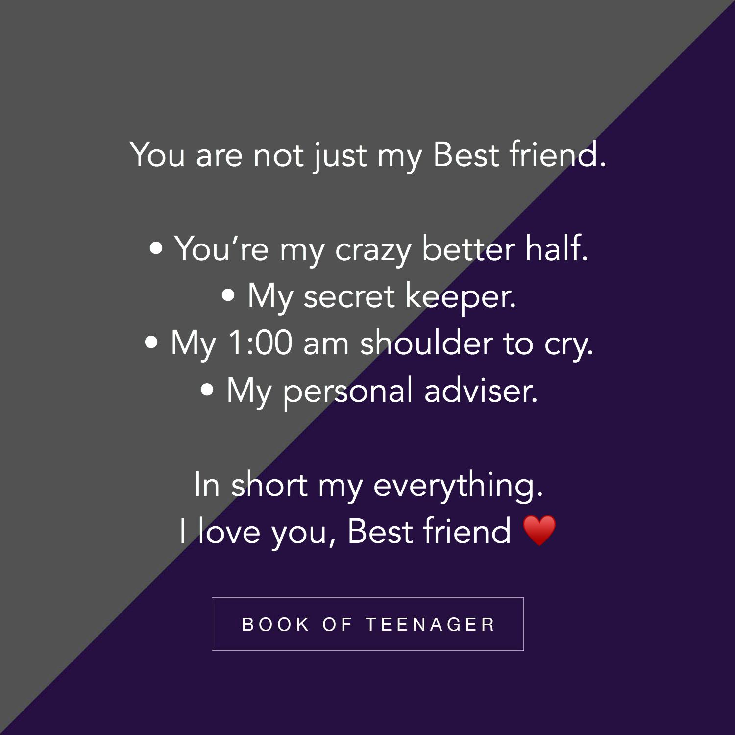 For More Amazing Posts Like This Follow Us On Instagram Bookofteenager Friends Quotes Friends Quotes Funny Best Friend Quotes