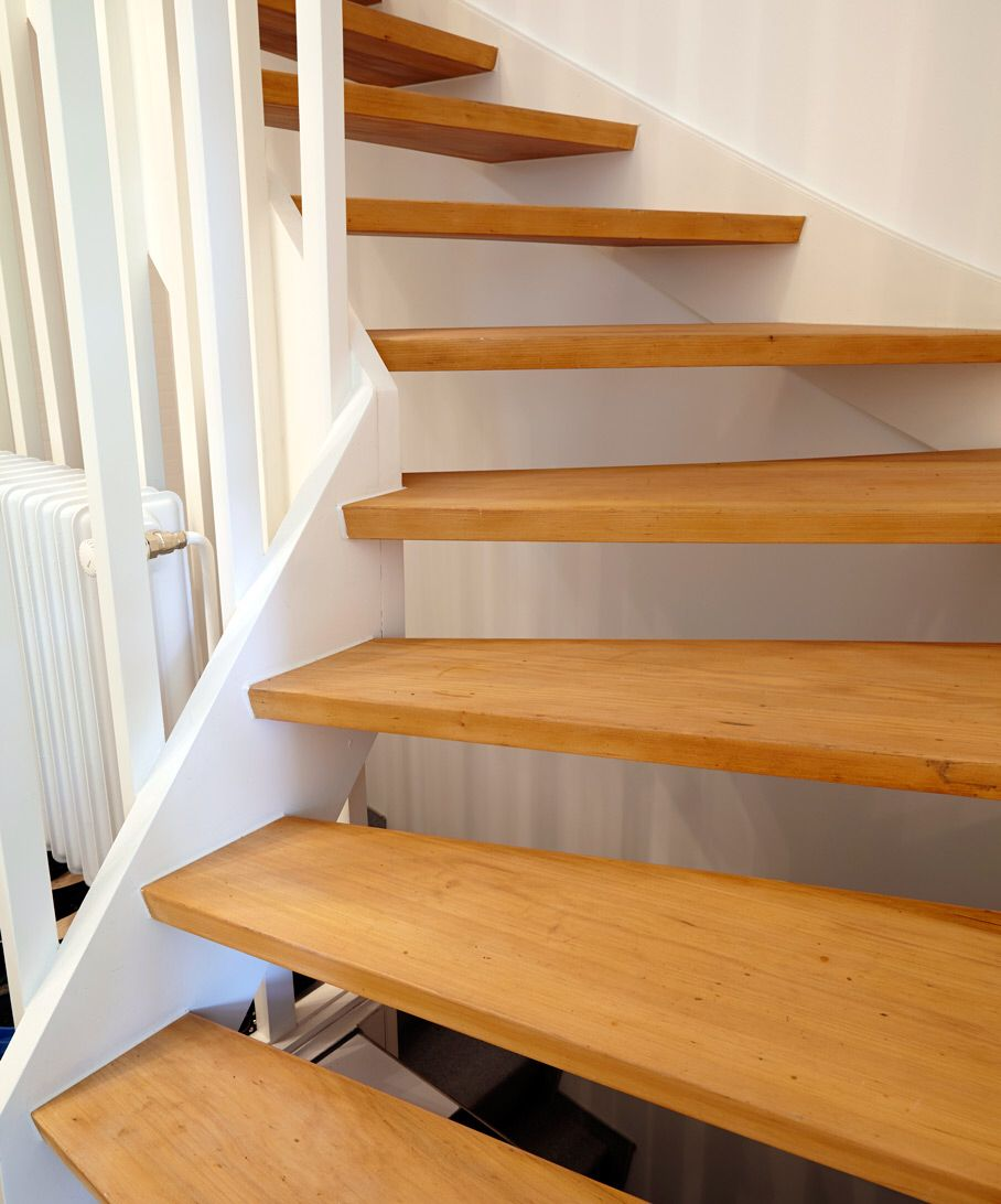 offene treppe treppe pinterest offene treppe treppe und hausbau. Black Bedroom Furniture Sets. Home Design Ideas