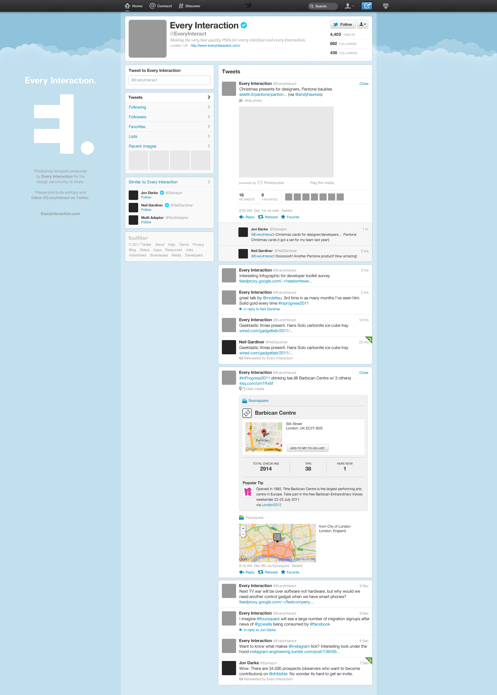 free new twitter profile page gui psd | mockup, twitter and social, Powerpoint templates