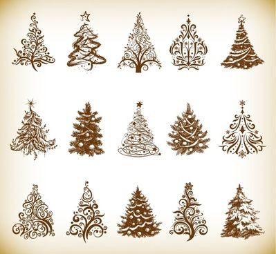 Gold Christmas Ornaments Vector Free Christmas Tree Vector Graphics Christmas Tree Clipart Tree Clipart Christmas Vectors