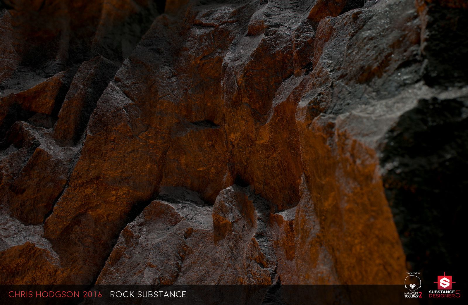 Rock / Substance Designer, Chris Hodgson on ArtStation at https://www.artstation.com/artwork/xmmNW