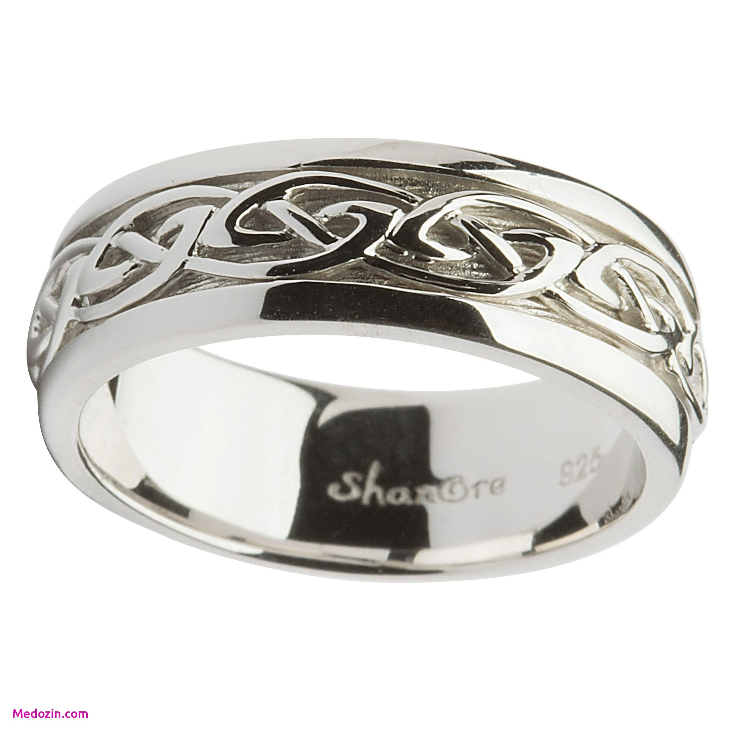 Gent Silver Celtic Knot Wedding Ring By Shanore Types Of Wedding