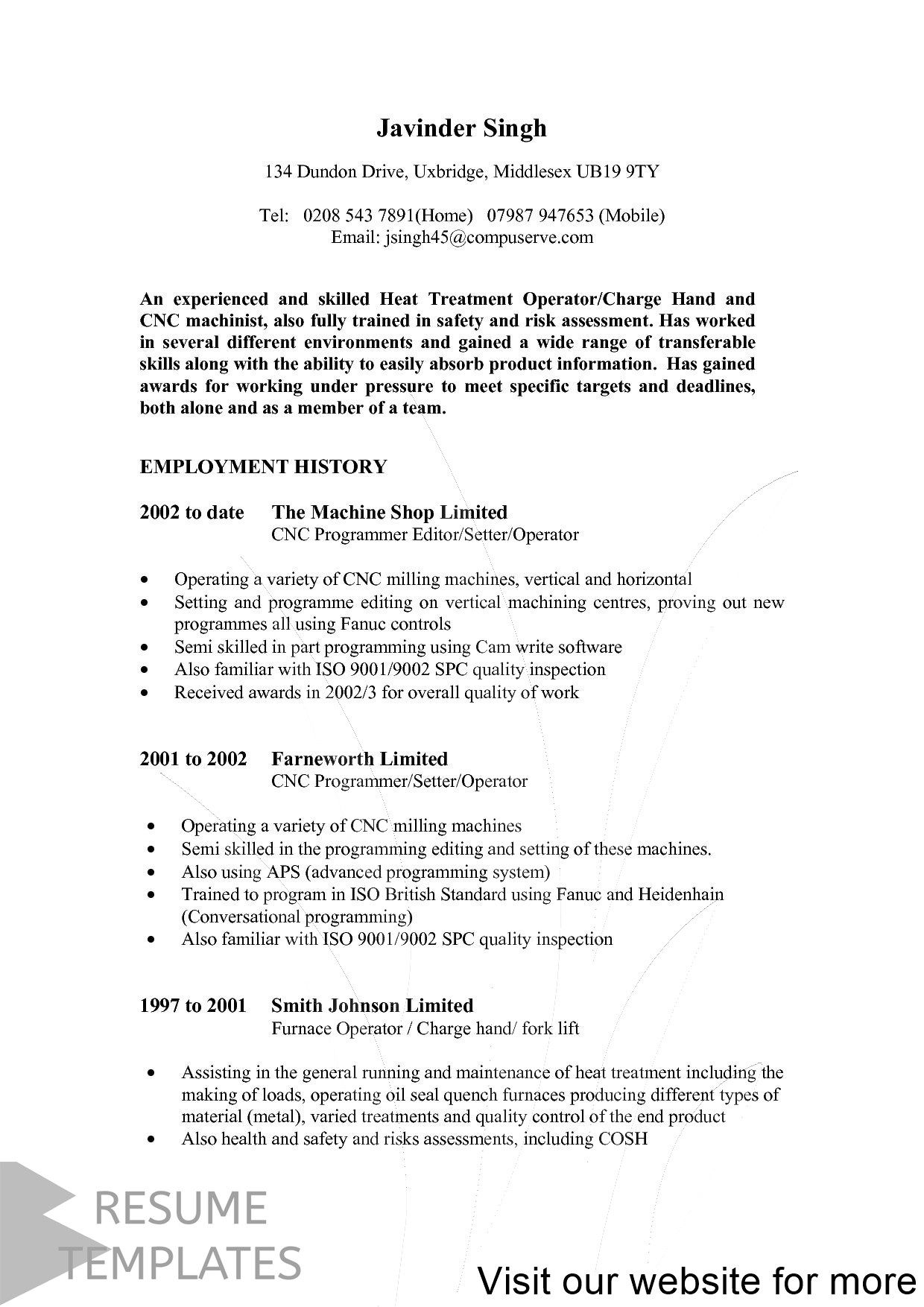 resume example address Professional in 2020 Resume